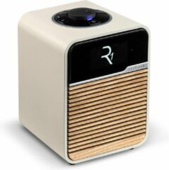 Witte Ruark Audio R1 MK4 Deluxe Radio met DAB+ en Bluetooth - Light Cream