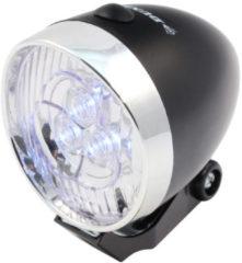 Zwarte Dunlop Voorlicht LED retro zwart