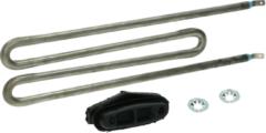 Ravizo Heizelement 1500W 110V (ohne Flansch, kpl. mit Dichtung, steckbarer Schutzleiteranschluss) für Waschmaschinen 1511748