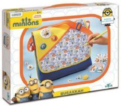 Witte Totum Minions Busakkah - Versier je eigen Minions tas