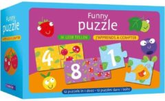 Blauwe Deltas Funny puzzle - ik leer tellen / Funny puzzle - j'apprends à compter
