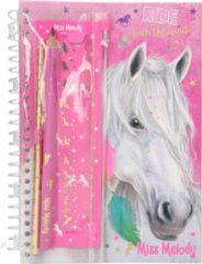 Roze Depesche Miss Melody notitieboek met schrijfset