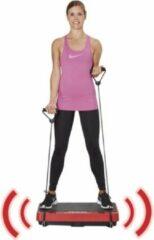 Rode Gymform - Vibromax PRO - Fitness trilplaat -powerplate belast alle spiergroepen – Trilplaat Fitnessplaat Body Shaper- inclusief stretchbands - Bekend van TV