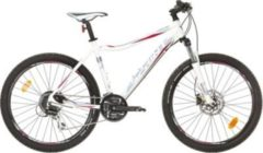 26 Zoll Damen Mountainbike 24 Gang Sprint... weiß-blau, 44cm