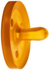 Bruine Goldi Sauger Speen natuurrubber ovaal - Maat XS - 0M Ovaal - 0 Maanden
