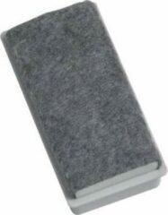 Grijze Naga Magnetische bordenwisser voor witborden formaat 75 x 35 x 24 mm
