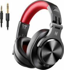 Rode OneOdio A71 Fusion - Over-ear koptelefoon - hoofdtelefoon met micro - Gaming - PS4 - PC - XBOX - dj set - kop telefoon - professionele koptelefoon - muziek studio - dj set mengpaneel - dj Headphones - Gameheadset - Game - audiocall black/red