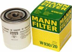 MANN FILTER Oliefilter W930 / 20