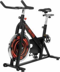 Zwarte Gorilla Sports Indoor Cycling Bike - Hometrainer - Spinning Fiets - Belastbaar tot 110 kg
