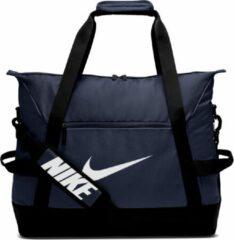 Marineblauwe Nike Academy Team Voetbaltas - Maat Large
