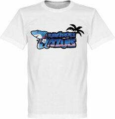 Witte Retake Kaapverdië Tubarões Azuis T-shirt - XL