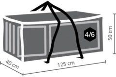 Antraciet-grijze Maxx Zitkussens beschermhoes - 125 x 40 x 50 cm
