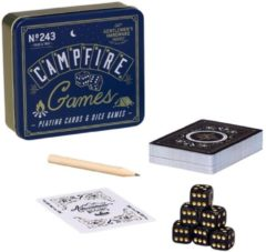 Gentlemen's Hardware Retro Campfire Games Dobbel & Kaartspel - Gentlemen's Hardware Retro Campfire Games Dobbel & Kaartspel