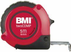 Rieffel 472 twoCOMP rolmaat 3 m Acrylonitrielbutadieenstyreen (ABS) Zwart, Rood