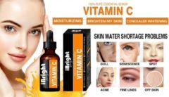 IBright Beauty Vitamine C Serum & Hyaluronzuur serum | Anti Aging | Anti Rimpel | Gezicht Serum | 30 ml