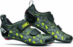 Gele Sidi T-5 Air Carbon Composite Grey/Yellow/Black - Maat 46