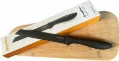 Royal VKB Broodmes - 20 cm - Donkergrijs - Hoogwaardige kwaliteit - RVS