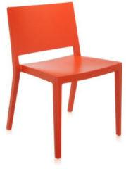 Kartell Lizz Mat Stuhl - matt gefärbt - orange