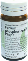 FERRUM PHOSPHORICUM S Phcp Globuli 20 g