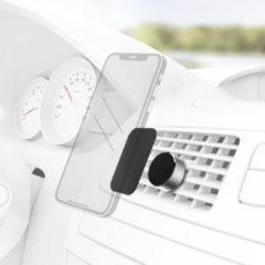 Ventilatierooster Auto-telefoonhouder Hama Magnet Alu 360° draaibaar, Magneetbevestiging