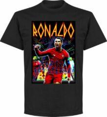 Retake Ronaldo Old-Skool Hero T-Shirt - Zwart - 3XL