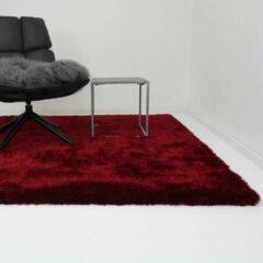 Vloerkleed Xilento Velvet Robijn Rood | 170 x 230 cm