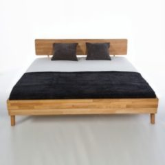 WOODLIVE Bett 180x200 in Kernbuche massiv geölt