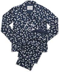 Webpyjama, geknöpft rayville navy-blue