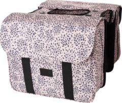 Fastrider Nyla Double Bag Fietstas Lichtroze/Zwart