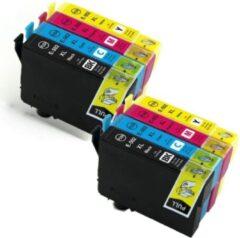 Cyane Inkmaster inktcartridges voor Epson 502XL | Multipack van 4 cartridges voor Expression Home XP-5100, XP-5105, Workforce WF-2860, WF-2860DWF, WF-2865, WF-2865DWF