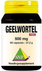 Snp Geelwortel Curcuma 500 Mg Puur (60cap)