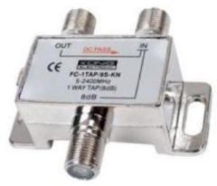 König Konig satelliet multitap met 1 uitgang - 8 dB - 5-2400 MHz