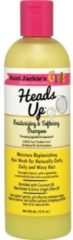 Aunt Jackies Girls Fabulous Curls & Coils Heads Up Moisturizing & Softening Shampoo 355 ml