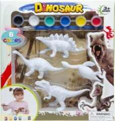 Lg-imports Schilder Je Eigen Dino Stegosaurus Junior 21,5 Cm