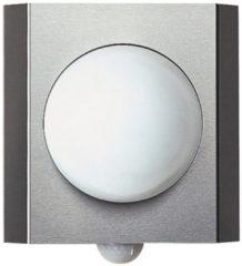 Albert Rvs buitenlamp met sensor Quadrate Globe Albert-Leuchten 696127