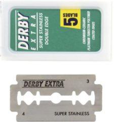 Derby Extra Razor double edge scheermesjes - 5 Stuks