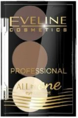 Eveline Cosmetics All In One Eyebrow Set No. 1 - 1,7g.