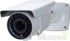 Witte Merkloos / Sans marque Hdcctv-Camera - Gebruik Buitenshuis - Cilindrisch - Varifocale Lens - Ir - 1080P