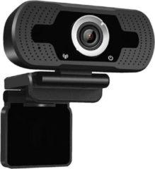 NÖRDIC EC-A258, Webcam met microfoon voor PC, laptop, Webcamera HD 1080p, zwart