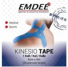 Emdee Kinesio Tape Lichtblauw - 5 cm x 5 cm