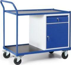 Protaurus TAUROFLEX Werkstattwagen 250 kg mit 1 Schrank und 1 Schublade, 120 x 60 x 103 cm