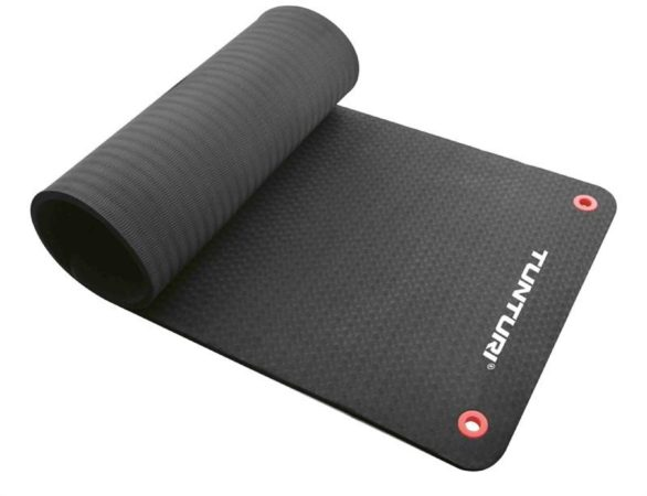 Afbeelding van Tunturi Fitnessmat Pro 180 x 60 cm zwart