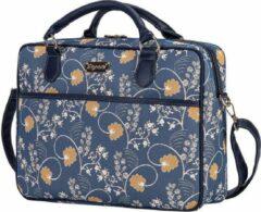 Blauwe Signare Laptoptas Austen Blue |Jane Austen |Computertas | Businesstas | Aktetas