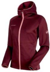 Fleecejacke Get Away ML Hooded in sportlichem Design 1010-23230-3419 Mammut Merlot Melange