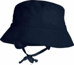 Marineblauwe Maximo zonnehoedje recht navy maat 51