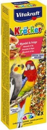 Afbeelding van Vitakraft Valkparkiet Kracker 2 stuks - Vogelsnack - Fruit