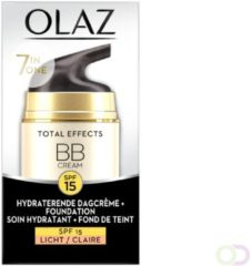 4x Olaz Total Effects BB Cream Light SPF 15 50 ml