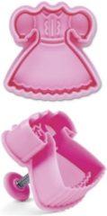 Roze Städter Plastic plunger cutter - jurk - St�dter