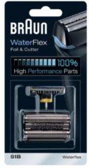 Procter&Gamble Braun Kombipack 51B sw - Scherfolie u Klingenblock f.Waterflex-Serie Kombipack 51B sw