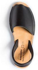 Menorquina-spaanse sandalen-avarca-zwart-Menorquinas-dames-heren-maat 40